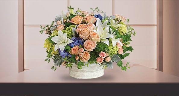 Holiday Flower Arrangements