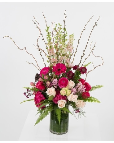 Larkspur Love Flower Arrangement