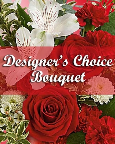Valentine's Day Designer's Choice Flower Arrangement