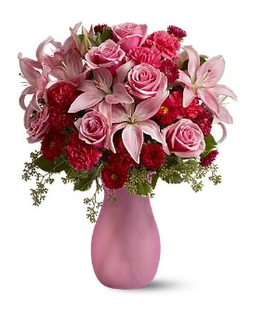 Pink Inspiration Flower Arrangement