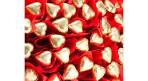 Heart Shaped Chocolate Roses
