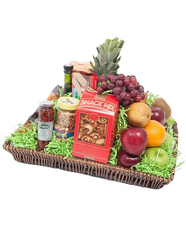 Fruit and Gourmet Snack Tray