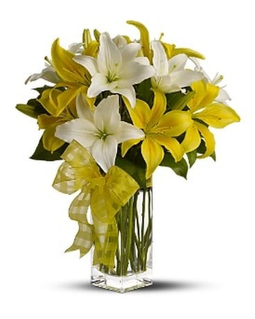 Pick A Lily Bouquet Flower Arrangement