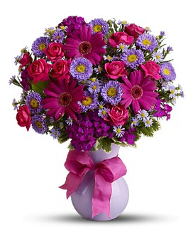 Teleflora's Simply Irresistible- Deluxe Flower Arrangement