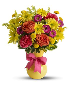 Teleflora's Hooray-diant! Flower Arrangement