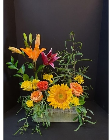 Sun Garden Flower Arrangement