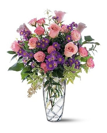 Pink Elegance Bouquet Flower Arrangement