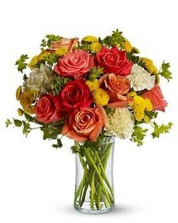 Citrus Kissed Flower Arrangement