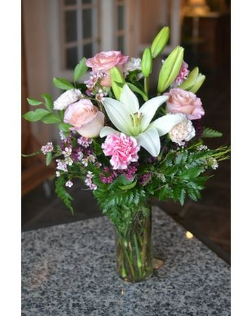 Blush & Bashful Flower Arrangement
