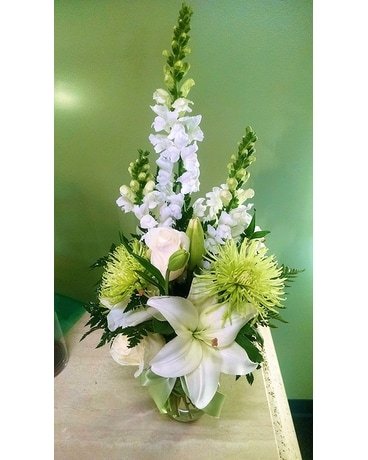 Pure Light Flower Arrangement