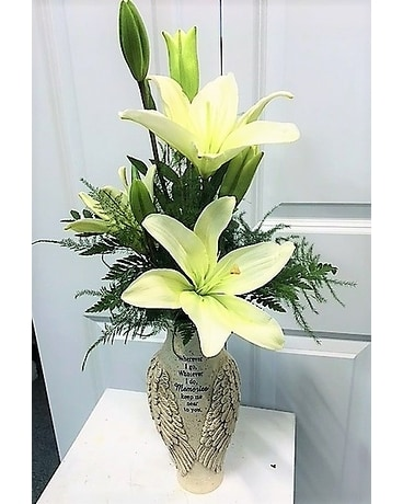 Angels Wings Flower Arrangement
