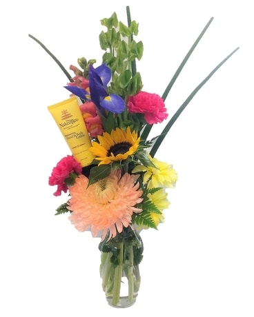 Let's Get Naked... Bee Flower Arrangement