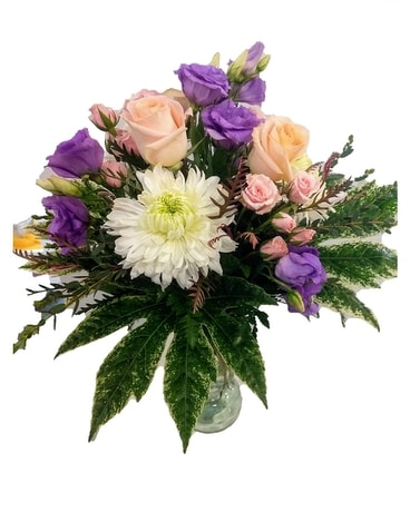 Pastel Wishes Flower Arrangement