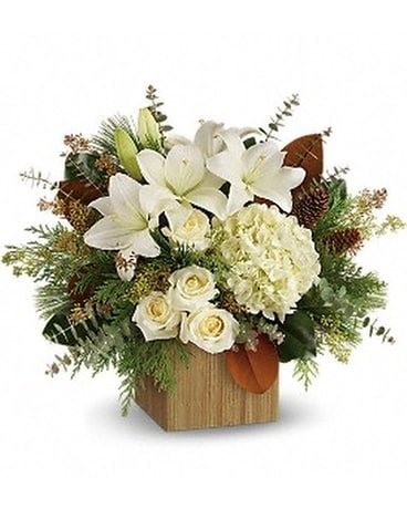 Teleflora's Snowy Woods Bouquet Custom product