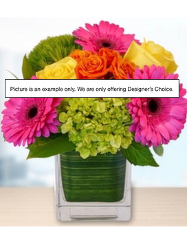 Colorful Floral Flower Arrangement