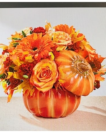 HARVEST PUMPKIN BOUQUET Flower Arrangement