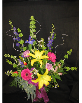 Beautiful Springtime Flower Arrangement