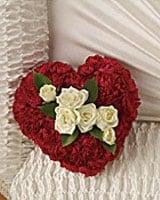 Inside Casket Flowers