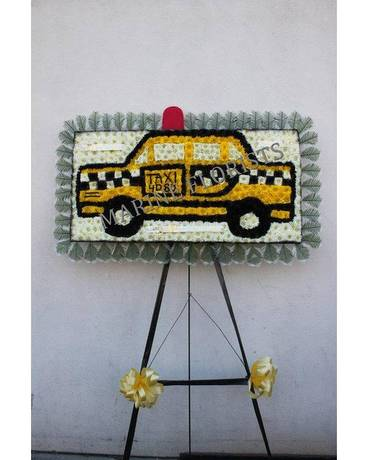 Funeral Custom - NYC Yellow Taxi Funeral Arrangement