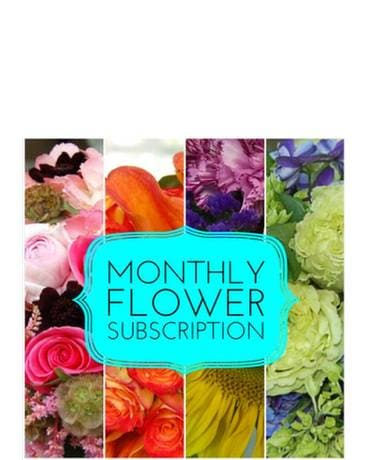 Monthly Flowers Subcription! Flower Arrangement