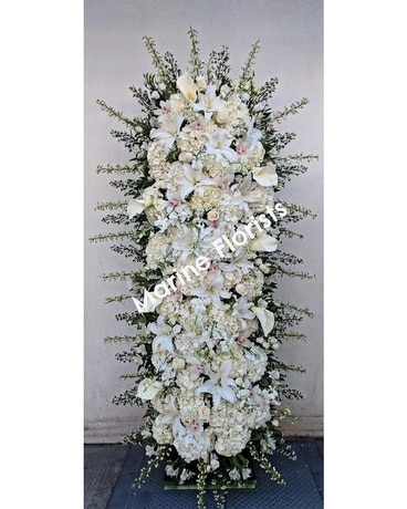 Flower Wall Spray Specialty Arrangement