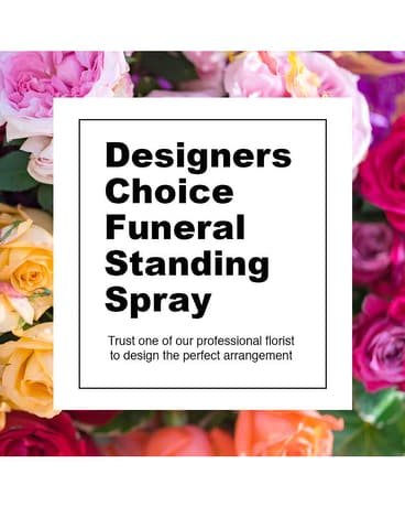 Designers Choice Funeral Spray Sympathy Arrangement