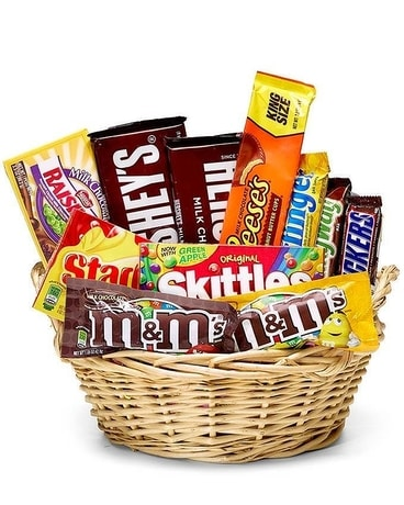Fan Favorite Candy Basket Gift Basket