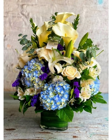Blue Bay Bounties Flower Arrangement