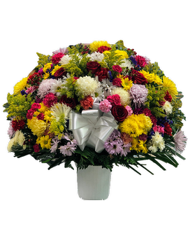 Heartfelt Sympathies Basket Sympathy Arrangement