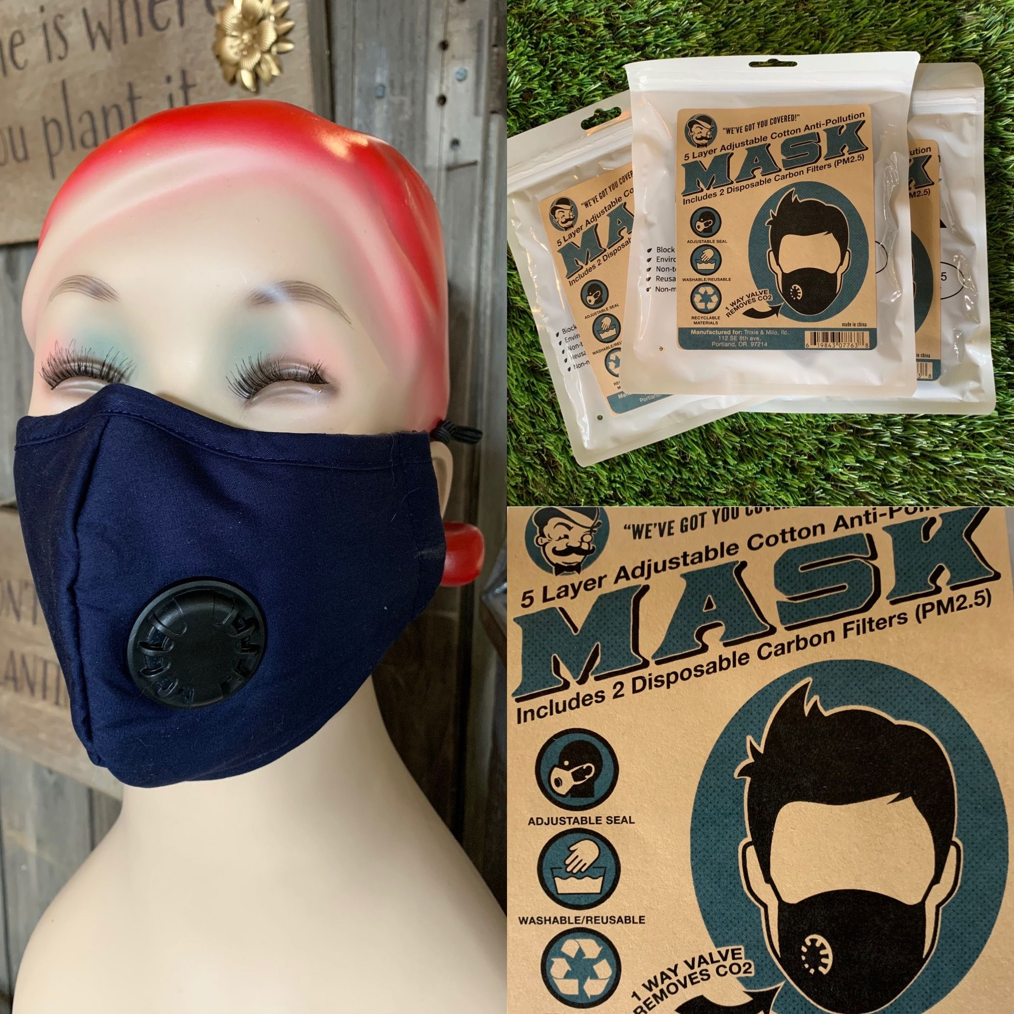5 Layer Valve Mask