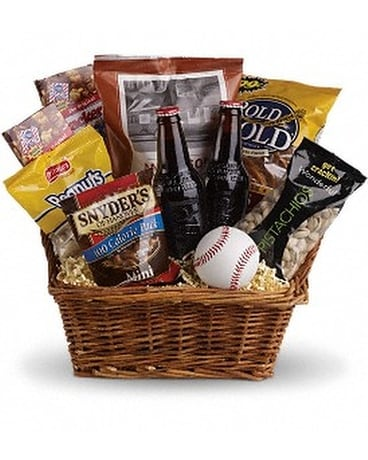 Take Me Out to the Ballgame Basket Custom product