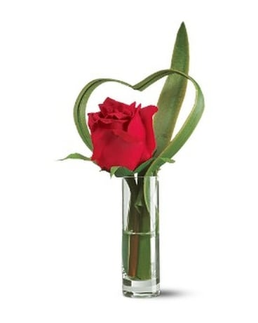 Nice Red Rose Flower Arrangement