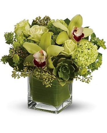 Teleflora's Rainforest Bouquet Deluxe Flower Arrangement