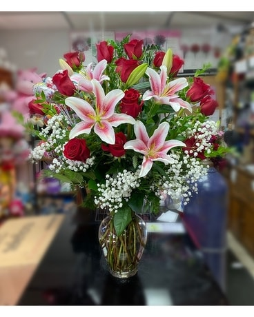 Long Stem Premium Flower Arrangement