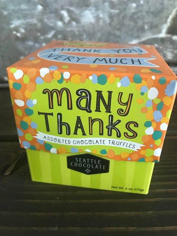 Thank You assorted truffle gift box