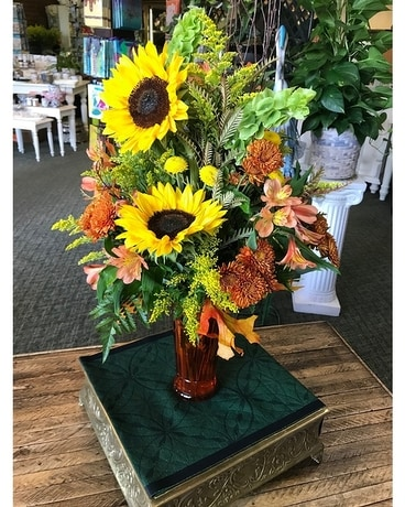 Sunflower Harvest Flower Arrangement