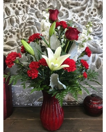 Ruby Flower Arrangement