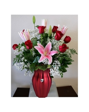 Love and Romance Flower Arrangement