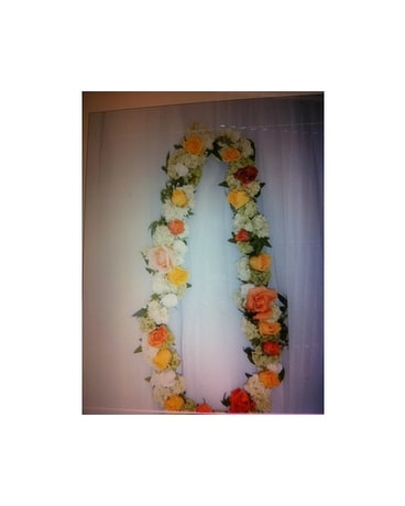 Peachy Garland For Indian Wedding Delivery Modesto Ca Flowers By Alis Download Free Architecture Designs Crovemadebymaigaardcom
