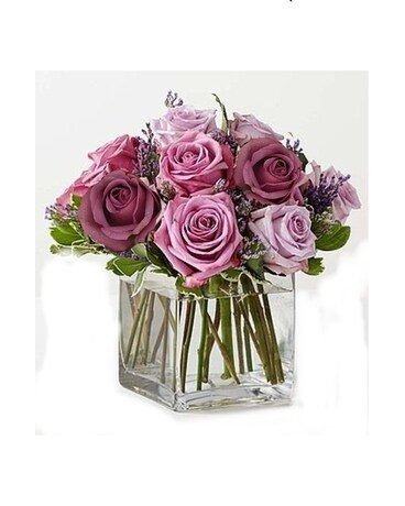 Rose Meadow Flower Arrangement ...