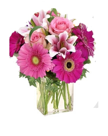 Sweetly Pink Flower Arrangement