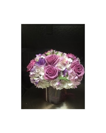 In Love with Lavender Flower Arrangement