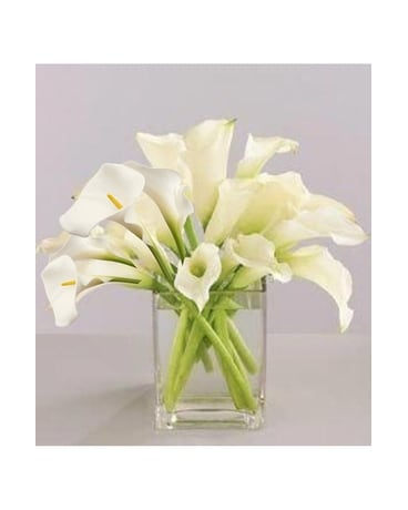 Pure love 20 small calla lily Flower Arrangement
