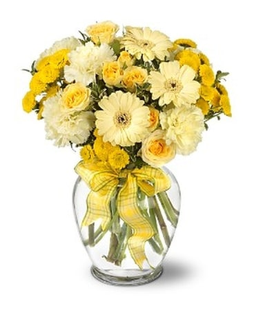 Sweet Sunshine Flower Arrangement