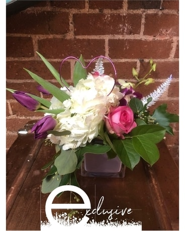 EID Love Squared Flower Arrangement