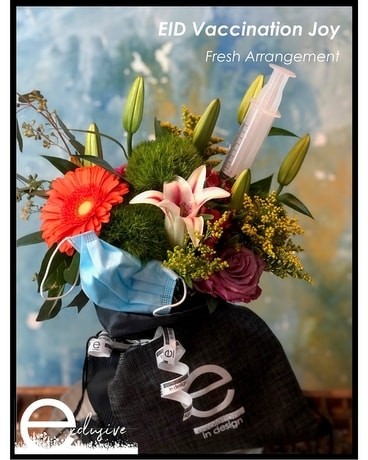 Vaccination Joy Flower Arrangement