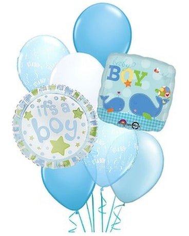 Quick View Baby Boy Balloon Bouquet
