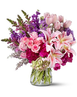 Royal Radiance Flower Arrangement