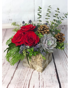 Essence of Winter Flower Arrangement