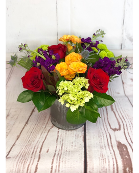 Radiant Jewels Flower Arrangement